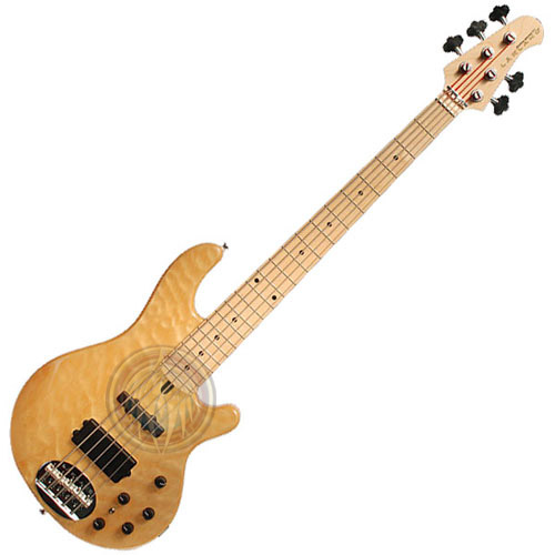 Miniature Bass Guitar blonde