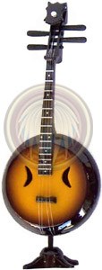 miniature guitar mandolin