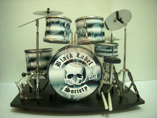 Black Label Society drum set