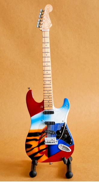 Eric Clapton Crash C  guitar miniature
