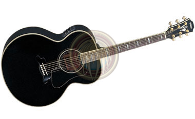 miniature guitar acoustic black