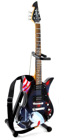 Miniature guitar Paul Stanley KISS