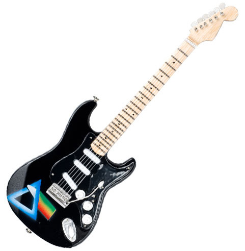 Pink Floid miniature guitar