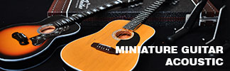 Miniature guitar acoustic products