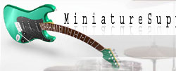 miniature guitars wholesale and factory from Indonesia, miniature music instraument in very nice qualities like miniature guitar, miniature drum set, miniature violin, keyring guitar, all miniature guitar factory made by own factory