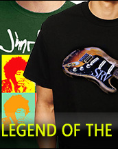 Legend of Music marchandise T shirt 100% cotton