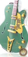 Miniature guitar Bono green U2