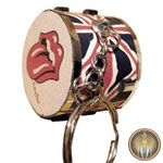 Drum key chain Rolling stones