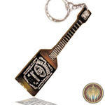 Key chain Guitar Bass