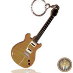 Key ring Guitar guitar Santana