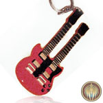 Jimmy Page guitar key chain