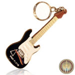 Guitar key ring Pink Floyd